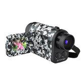 BlitzWolf® BW-KC3 Monocular Telescope Camera 60X Zoom 1500m Telescope Vision Είσοδος απομακρυσμένου ήχου για τηλεοπτική εγγραφή και λήψη φωτογραφιών Παιδικά δώρα με κάρτα TF