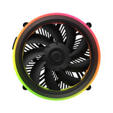 DarkFlash Shadow RGB PWM معالج Cooling Fan Motherboard مراقبة Cooler Motherboard Sync for انتل النواة i7 / i5 / i3