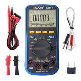 OWON B41T + 4 1/2 Digital Мультиметр с измерителем истинного среднеквадратичного значения Bluetooth 3 в 1 регистраторе данных + Мультиметр + измеритель тем