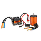 Surpass Hobby Waterproof 3650 3900KV senza spazzola RC Car Motor Con 60A ESC Set per 1/10 RC Car