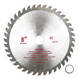 200mmx25.4mm 40 Teeth Carbide Tip Saw Blade Woodworking Cutter