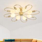 110-265V Moderne minimalistische Wohnzimmerlampe Kronleuchter Neue LED-Deckenleuchte Kreative Smart Schlafzimmer Zimmerlampe Innen ohne Glühbirne