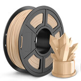 SUNLU 1KG WOOD Fiber 1.75MM Filament Wood PLA filament do drukarki 3D