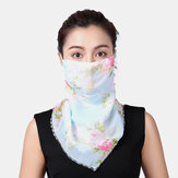 Breathable Quick-drying Summer Outdoor Riding Printing Neck Protector Sunscreen Scarf Anti-UV Bandana