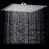Cabeça de chuveiro de aço inoxidável superior de alta pressão 304 do chuveiro do pulverizador da polegada 25 * 25cm