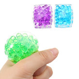 Squishy MultiColor Tofu Mesh Stress Reliever Ball 5 * 4 * 2 CM Squeeze Stressball Party Bag Zabawa Prezent