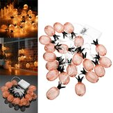 Batterie Powered Warm White Metal Ananas geformt Indoor LED Fairy String Licht für Weihnachtsfeier