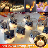 Battery Supply Owl LED String Fairy Light DIY Halloween Christmas Party Home Decor Christmas Decorations Clearance Christmas Lights