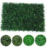 40x60cm Planta Decoraciones de paneles de jardín verticales de cerco de pared Foliage Hedge