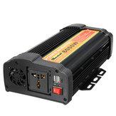 UNNC-8 6000W zonne-energieomvormer 12V DC naar 220V AC auto gemodificeerde sinusomvormer