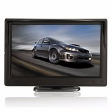 5 inch TFT LCD Car Rear View Camera Backup Reverse Monitor Parking Night Vision Display Kit