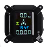 Wireless Tricycle Motorcycle Real Time TPMS LCD Display Tire Pressure Monitoring System Waterproof External WI Sensors For Polaris/Bombardier/Yamaha GL1800