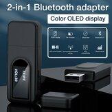 Bakeey USB Bluetooth 5.0 Sender Empfänger 3,5 mm AUX-Buchse LCD Display Wireless Adapter Für TV Stereo Lautsprecher Kopfhörer