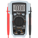 MUSTOOL MT66 True RMS 5999 Counts Digital Multimeter AC/DC Current Voltage Frequency Resistance Capacitance Temperature Tester DutyCycle Diode Continuity V~Alert Measurement