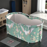 46x27.6x23.6 inch Portable Bathtub Folding Water Tub Indoor Outdoor Room Adult Spa Foldable Bath Bucket
