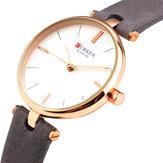 CURREN9038UltraFinoSimplesDesign Senhoras Relógio De Pulso