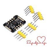 3Pcs MAX30102 Frequência cardíaca dos batimentos cardíacos do testador Sensor Módulo Detecção de pulsos Teste de concentração de oxigênio no sangue Geekcreit para Arduino - produtos que funcionam com placas Arduino oficiais