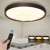 50CM 3 Modes Dimmable LED Ultra-thin Diamond Ceiling Light + 2.4G / Infrared Remote Control 180-260V