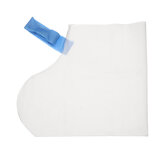 Disposable Shoe Cover Anti Slip Cleaning Overshoes Boot Non-woven Fabric White