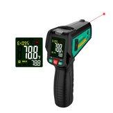 FUYI -50 ~ 580 ℃ infravermelho sem contato digital Termômetro Laser medidor de temperatura portátil IR com termopar K Tipo