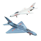 J-7 Fighter 810mm Envergure EPP Avion RC Avion RC KIT Aile Fixe avec 70mm Ventilateur Conduit