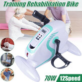Old People Rehabilitation Indoor Bike Fahrradtrainer Arm Bein Pedal Exerciser Workout Fitness