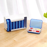 Weekly Pill Organizer Box Tablet Holder Drug Container Organizer Case For Home Travel
