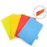 4 szt. Zestaw kuchenny plastikowej deski do krojenia Colorful Podstawka do krojenia