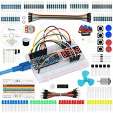 Geekcreit Strater Kit for Nano Project with Servo Motor Jumper Wire Arduino UNO Mega 2560の詳細なチュートリアル