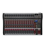 Console professionnelle de mixage audio Live Studio DJ Studio 16 canaux