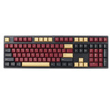 166 Keys Color Matching Keycap Set Cherry Profile PBT Two Color Molding Keycaps for Mechanical Keyboard