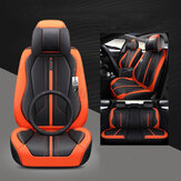 5 Seat Cover Cushion Set 6D Surround Breathable Luxury Car Seat Protector