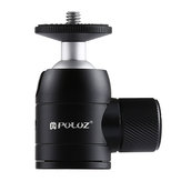 PULUZ PU384 Mini 360 Degree Rotation Metal Tripod Ball Head with 1/4 Standard Screw Thread