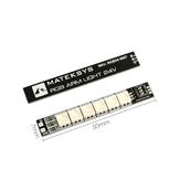 2 ADET Mateksys RGB ARM 24 V 50X7mm Işık LED Şerit Kurulu RC Drone FPV için Yarış