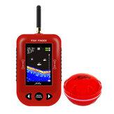 ERCHANG 2.8 cala TFT lokalizator ryb LCD bezprzewodowy sonar 48 M / 160 stóp głębokość 200 M odległość jezioro wykrywanie ryb profesjonalny bezprzewodowy czujnik sonaru