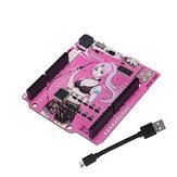 RGBDuino UNO V1.2 Jenny Development Board ATmega328P Chip CH340C VS UNO R3 Atualização para Raspberry Pi 4 Raspberry Pi 3B Geekcreit para Arduino - produtos que funcionam com placas oficiais Arduino
