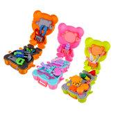 Simulazione Cucina per bambini Cucina Strumenti Dottore Trucco Gioco educativo Set di giocattoli finti con zaino per il trasporto