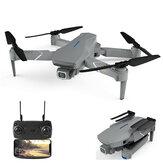 Eachine E520S PRO GPS WIFI FPV avec 4K HD Angle de réglage de la caméra 16 minutes de temps de vol Drone RC pliable Quadricoptère RTF
