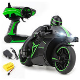 ZhengCheng 333-MT01B 2.4G 20km/h Rc Car Motorcycle 30 Degree 24.4*12.7*14cm With Flashlight
