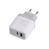 Chargeur USB Bakeey QC3.0 PD18W Charge rapide pour iPhone XS 11Pro Huawei P30 P40 Pro Mi10 S20 + Note 20