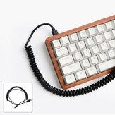 Клавиатура USB-кабель для передачи данных Спираль Спиральный кабель для игр Механический Клавиатура Кабель для передачи данных Клавиатура