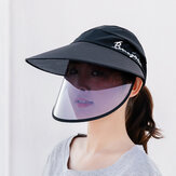 Women's Sun Hat Anti-UV Visor Anti-fog Caps