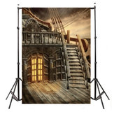 5X7FT Pirate Ship Photography Backdrop Studio Ancient Photo Background Props