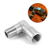 Stainless Steel 1/8 NPT Connector 90 Degree Elbow Air Fitting Replacement Accessories