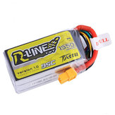 Tattu R-Line Version 1.0 14.8V 1550mAh 95 C 4S XT 60プラグリポバッテリー