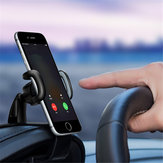 360° Rotatable HUD Type Car Dashboard Phone Holder Buckle ABS Mount Stand for iPhone X