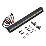 36LED Super Bright LED Light Bar Lampu Atap Set untuk 1/10 Traxxas TRX4 SCX10 90046 Crawler Rc Mobil