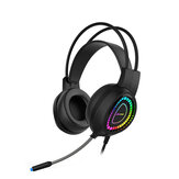 Bonks G3 Virtual 7.1 Channel Gaming Headset  RGB Backlight Surround Stereo Headphone With Microphone Auriculares for PC Laptop Gamer