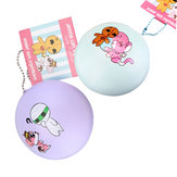 Cutie Creative 7cm Mummy Sugar Bun Brood Hanging Ornament Squishy Gift Collection met verpakking