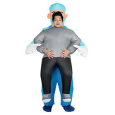 Halloween Doctor Holding People Inflatable Clothing Stage Performance Inflatable Clothing Devil Funny Walking Prop Clothing